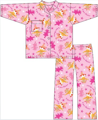 NEW Girls In The Night Garden Character Cotton Wyncette PYJAMAS pajama sleepwear. To Fit Ages 12-18 / 18-24 Months & 2-3 / 3-4 Years