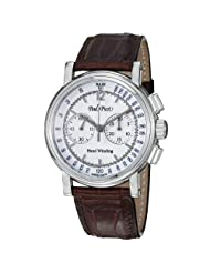 Paul Picot Technicum Men's White Dial Mechanical Chronograph Watch P3813.SG.1231.1601