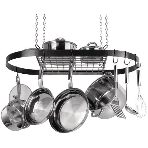 Range Kleen CW6000 Black Oval Pot Rack