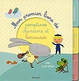 Mon premier livre de comptines, chansons et berceuses (+1 CD inclus)
