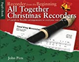 Various John Pitts Recorder From The Beginning All Together Christmas Rec
