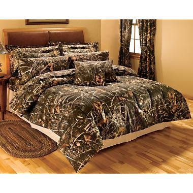 Queen Size Green camouflage Comforter Set – Hardwoods