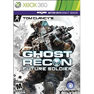 51oDF9uKhGL. AA300  Download Tom Clancy's Ghost Recon Future Soldier 2012   XBox 360 + Kinect