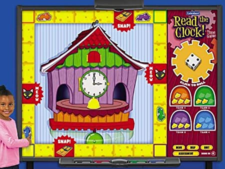 Read the Clock Interactive Time Game