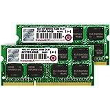 Transcend ノートPC用メモリ PC3L-12800 DDR3L 1600 8GB×2 1.35V(低電圧) - 1.5V 両対応 204pin SO-DIMM kit (無期限保証) TS1600KWSH-16GK