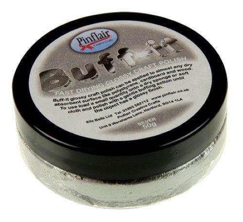 Pinflair buff-it Craft polonais-Argent, 50g
