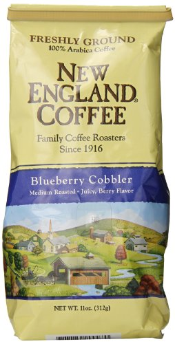 New England Coffee Blueberry Cobbler, 11 Ounce (Flavored Coffee compare prices)