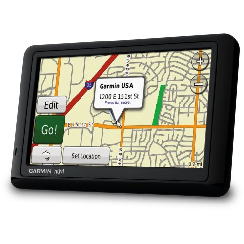 Garmin nüvi 1490/1490T 5-Inch Widescreen Bluetooth Portable GPS Navigator with Traffic (Factory Refurbished)