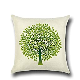 Pillowcase,Home Cotton LinenCushion Throw Pillow Covers Pillowslip Case 18\