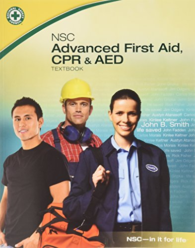 Advanced First Aid, CPR and AED Student Workbook