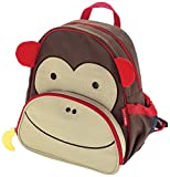 Skip Hop Zoo Pack Little Kid Backpack, Monkey