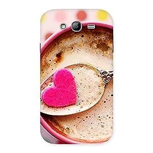 Impressive Pink Love Coffee Multicolor Back Case Cover for Galaxy Grand Neo Plus