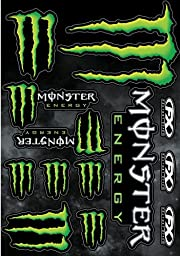 Factory Effex 17-68020 Monster Sticker Kit