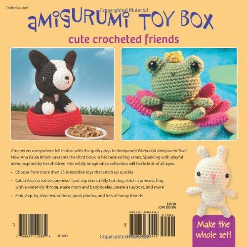 Amigurumi World Seriously Cute Crochet : figur.com - Amigurumi Toy Box: Cute Crocheted Friends ...