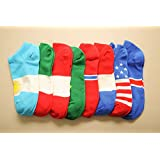 Foocc 2015 New Fashion Men Unisex Breathe Freely Sport Socks Comfortable Warm Hot 5 Pairs