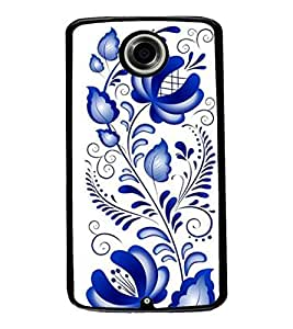 Aart Designer Luxurious Back Covers for Motorola Google Nexus 6 + Flexible Portable Thumb OK Stand by Aart Store.