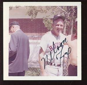 Nellie Fox Houston Astros Autographed Snapshot Photo PSA DNA LOA - Autographed MLB... by Sports+Memorabilia