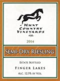 2014 Hunt Country Vineyards Semi-Dry Riesling Finger Lakes Estate Bottled 750mL White Wine