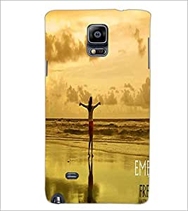 PRINTSWAG LONELY GIRL Designer Back Cover Case for SAMSUNG GALAXY NOTE EDGE