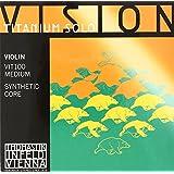 Vision Titanium solo ヴィジョンチタニウムソロ ヴァイオリン弦 E線、A線、D線、G線4種セット 4/4 VIT100 (セット内容VIT01,VIT02,VIT03,VIT04)