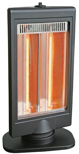 Comfort Zone® Flat Panel Halogen Heater CZHTV9