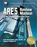 img - for ARE 5 Review Manual for the Architect Registration Exam book / textbook / text book