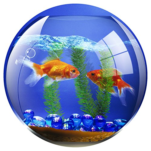 fellowes-round-brite-mat-mouse-pad-goldfish-bowl