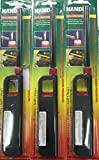 3 Pack Refillable Lighter for Kitchen Camping Grilling BBQ Home Adjustable Flame