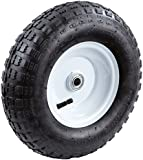 Tricam Farm and Ranch FR2010 Pneumatic Replacement Turf Tire for Hand Trucks and Lawn Carts, 13-Inch