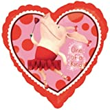 Olivia Party Supplies Heart Shapped Foil Balloon 18 q