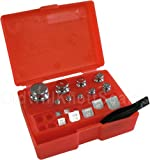 17 Piece - Class M2 - Calibration Weight Set With Red Storage Case
