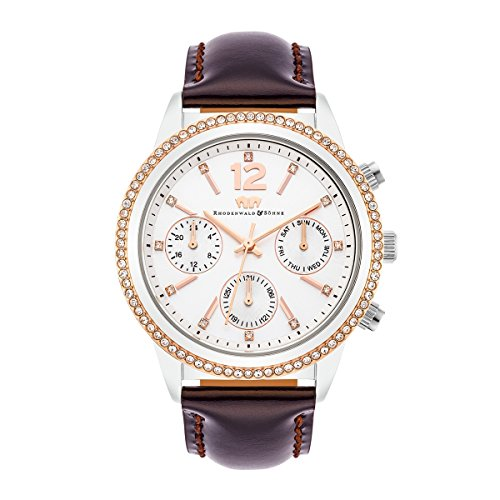 Rhodenwald & Söhne Flavia Montre femme multifonctions S/IPRG/BRO 5 ATM 10010208