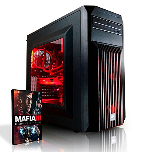 Megaport Gaming PC Intel Core i7 -6700 4x 3.40GHz • GeForce GTX1060 6GB • 250GB SSD Samsung 750 Evo • 16GB DDR4 • Windows10 • 1TB • WLAN gamer pc computer desktop pc high end gaming pc gaming computer