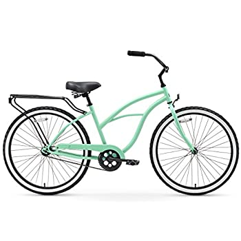 "sixthreezero Around The Block Women's 1-Speed Cruiser Bike, 17"" Frame/26"" Wheels"