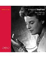 Irmgard Seefried: Recordings 1944 - 1967 (Coffret 4 CD)