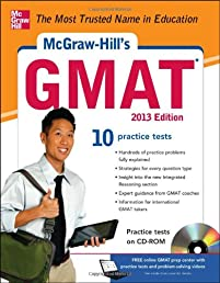McGraw-Hill's GMAT with CD-ROM 2013 Edition