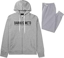 Kings Of NY City Of Barquisimeto Simple Underline Sweat Suit Sweatpants XX-Large Grey