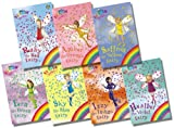 Daisy Meadows Rainbow Magic Colour Fairies Collection - 7 Books RRP £34.93 (1: Ruby the Red Fairy; 2: Amber the Orange Fairy; 3: Saffron the Yellow Fairy; 4: Fern the Green Fairy; 5: Sky the Blue Fairy; 6: Izzy the Indigo Fairy; 7: Heather the Violet Fa
