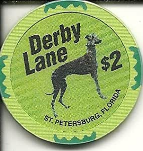 Amazon Com 2 Derby Lane Casino Chip St Petersburg