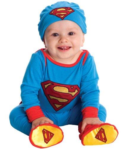 Superman Onesie Costume – Newborn
