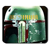 Generic Mp Silica 240Mmx200Mmx2Mm Mousepad With Star Wars Boba Fett Green Helmet Choose Design 1