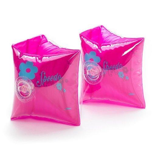 Speedo Child's Basic Swimming Armbands Pink Floral - 1