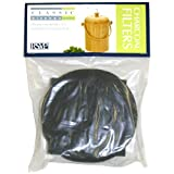 Bamboo Compost Pail Charcoal Filters, 2