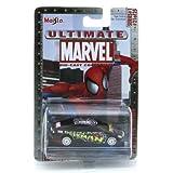 Marvel Ultimate Die Cast Collection Series 1: Spider-Man Buick LaCrosse Die Cast Car