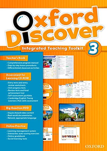Oxford Discover 3: Teacher's Book+Online Practice