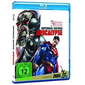 BD * Superman/Batman: Apocalypse [Blu-ray] [Import anglais]