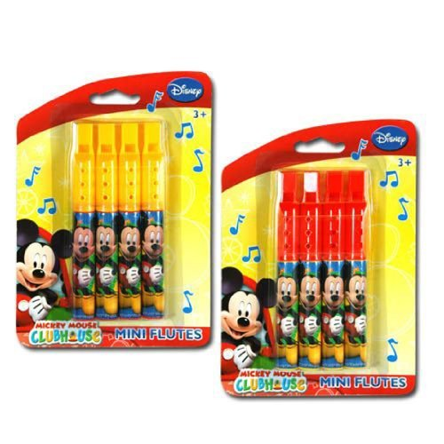 Disney Mickey Flutes 1 Pack Assorted Colors