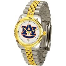 Auburn University Tigers AU NCAA Mens Steel Executive Watch