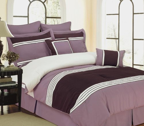 12Pc Wly Plum-Includes 600Tc Sheet Set! front-1013291