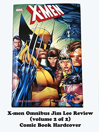 X-MEN Omnibus Jim Lee Review (volume 2 of 2) comic book hardcover